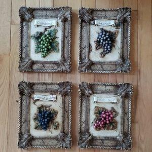 Decorative Wine Plaques